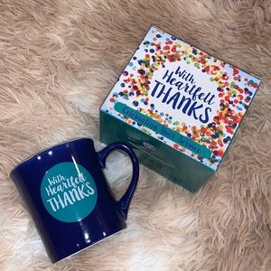 Other - With Heartfelt Thanks Gift Ceramic Mug w/ Ephesian